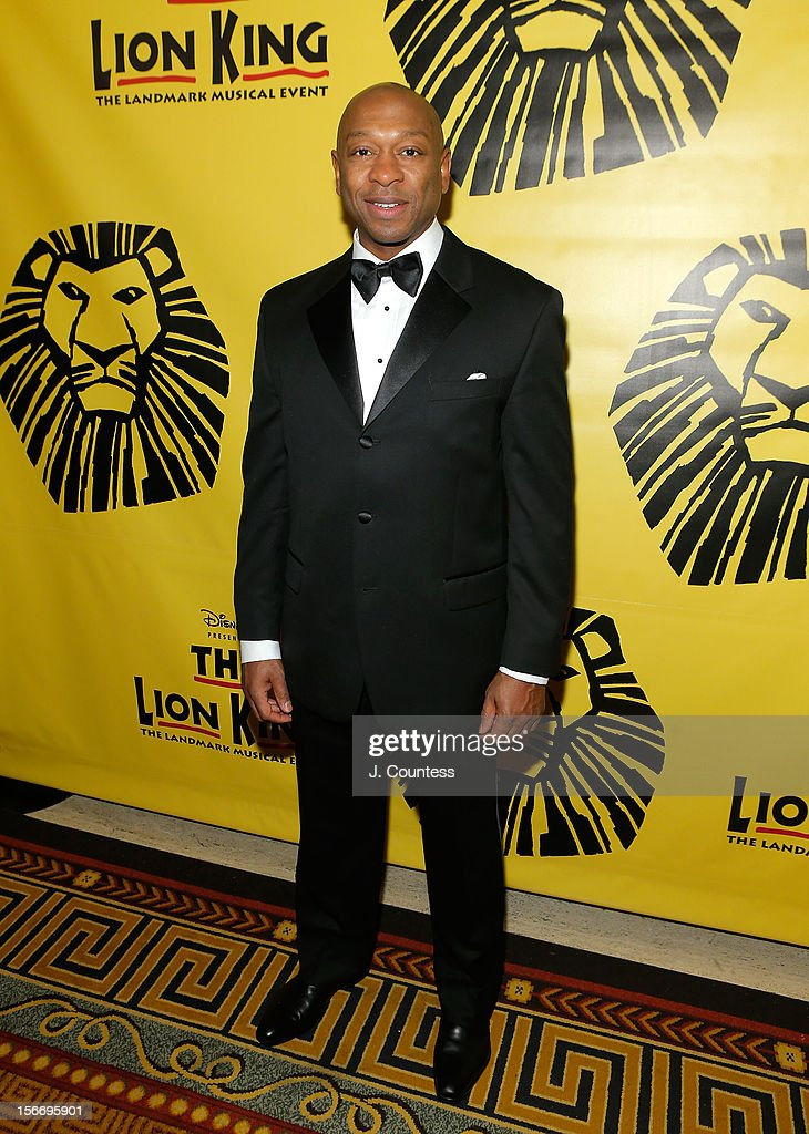 Actor Alton Fitzgerald White attends the afterparty for 'The Lion King' Broadway 15th Anniversary Celebration at Minskoff Theatre on November 18, 2012 in New York City.