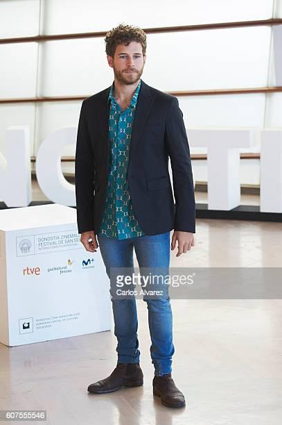 Actor Alvaro Cervantes attends 'Los Ultimos de Filipinas' photocall during 64th San Sebastian Film Festival at Kursaal Palace September 18 2016 in...