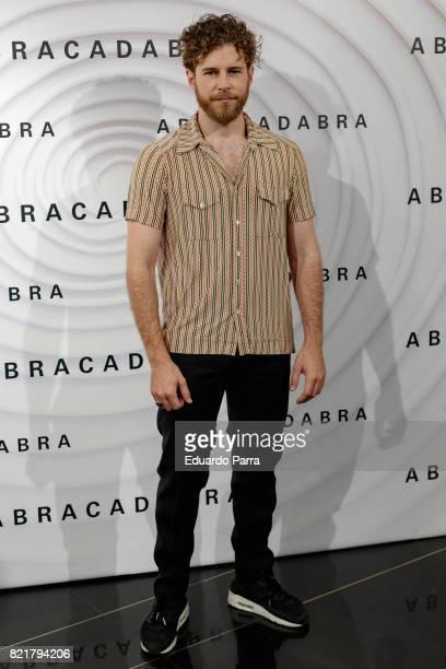 Actor Alvaro Cervantes attends the 'Abracadabra' premiere at Palacio de la Prensa cinema on July 24 2017 in Madrid Spain