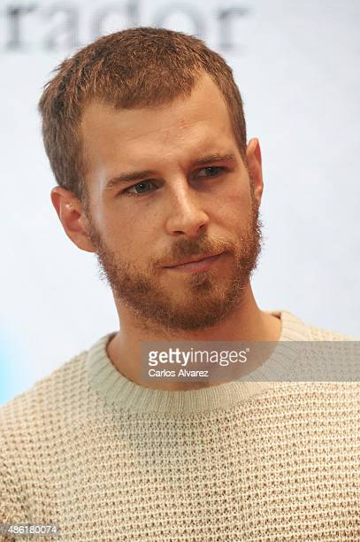 Actor Alvaro Cervantes attends the 'Carlos Rey Emperador' photocall during the 7th FesTVal Television Festival 2015 at the EscoriazaEsquivel Palace...