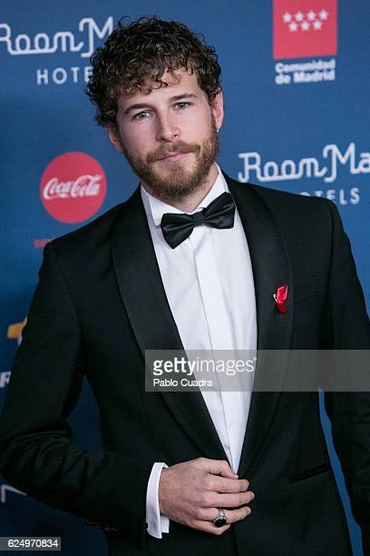 Actor Alvaro Cervantes attends the 'Gala Sida' 2016 at Cibeles Palace on November 21 2016 in Madrid Spain