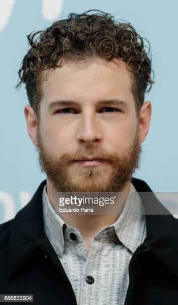 Actor Alvaro Cervantes attends the 'La Zona' photocall at Q17 Studio on March 23 2017 in Madrid Spain