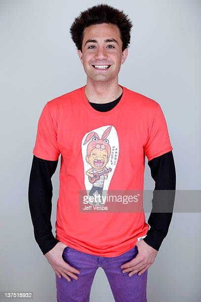 Actor Alvaro Orlando poses for a portrait during the 2012 Sundance Film Festival at the WireImage Portrait Studio at TMobile Village at the Lift on...