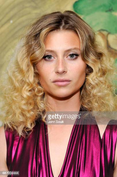 Actor Aly Michalka at the Wolk Morais Collection 5 Fashion Show at Yamashiro on May 22 2017 in Los Angeles California