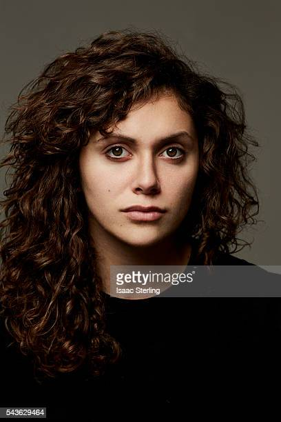 Actor Alyson Stoner is photographed for Zooey on November 22 2014 in Los Angeles California