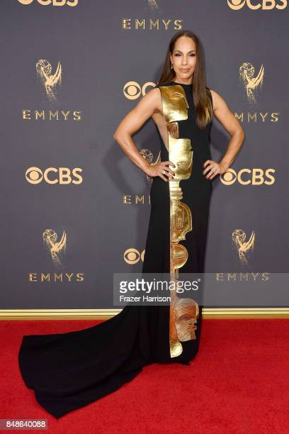 Actor Amanda Brugel attends the 69th Annual Primetime Emmy Awards at Microsoft Theater on September 17 2017 in Los Angeles California