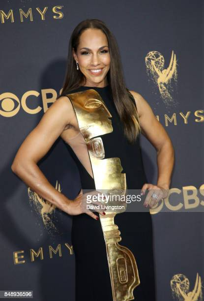 Actor Amanda Brugel attends the 69th Annual Primetime Emmy Awards Arrivals at Microsoft Theater on September 17 2017 in Los Angeles California