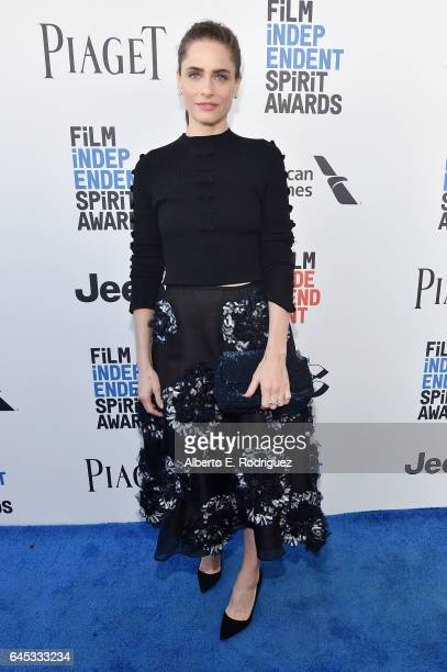 Actor Amanda Peet attends the 2017 Film Independent Spirit Awards at the Santa Monica Pier on February 25 2017 in Santa Monica California