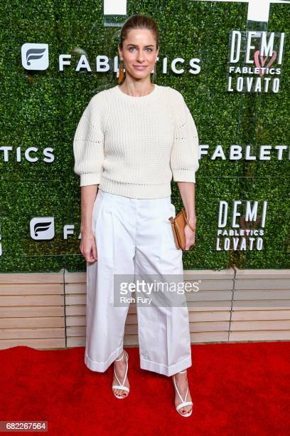 Actor Amanda Peet attends the launch of Fabletics Capsule Collection at the Beverly Hills Hotel on May 10 2017 in Los Angeles California