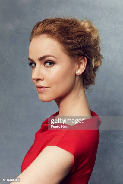Actor Amanda Schull from SYFY network's '12 Monkeys' poses for a portrait during ComicCon 2017 at Hard Rock Hotel San Diego on July 20 2017 in San...