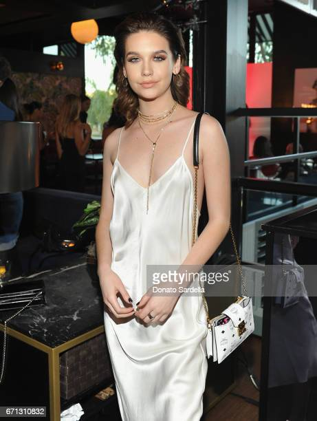 Actor Amanda Steele attends Marie Claire's 'Fresh Faces' celebration with an event sponsored by Maybelline at Doheny Room on April 21 2017 in West...