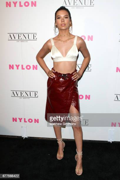 Actor Amanda Steele attends NYLON's Annual Young Hollywood May Issue Event at Avenue on May 2 2017 in Los Angeles California