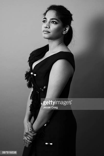 Actor Amara Karan is photographed for The Picture Journal on May 23 2016 in London England