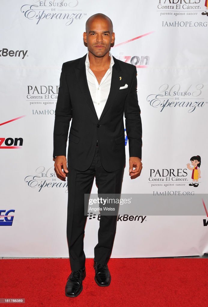 Actor <a gi-track='captionPersonalityLinkClicked' href=/galleries/search?phrase=Amaury+Nolasco&family=editorial&specificpeople=4493818 ng-click='$event.stopPropagation()'>Amaury Nolasco</a> arrives at the Padres Contra El Cancer 13th annual 'El Sueno de Esperanza' gala on September 24, 2013 in Los Angeles, California.