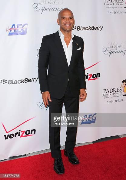 Actor Amaury Nolasco attends the Padres Contra El Cancer 13th annual 'El Sueno De Esperanza' Gala on September 24 2013 in Los Angeles California