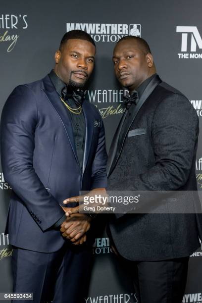 Actor Amin Joseph attends Floyd Mayweather's 40th Birthday Celebration on February 25 2017 in Los Angeles California