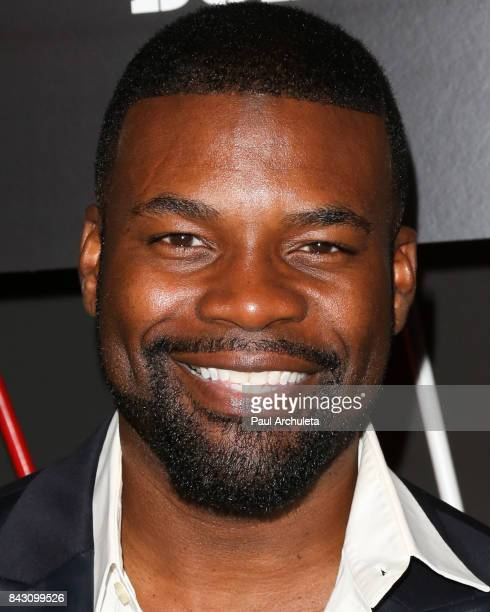 Actor Amin Joseph attends the ESPN Magazine Body Issue preESPYS party at Avalon Hollywood on July 11 2017 in Los Angeles California