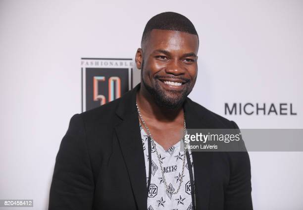 Actor Amin Joseph attends the Sports Illustrated Fashionable 50 event at Avenue on July 18 2017 in Los Angeles California