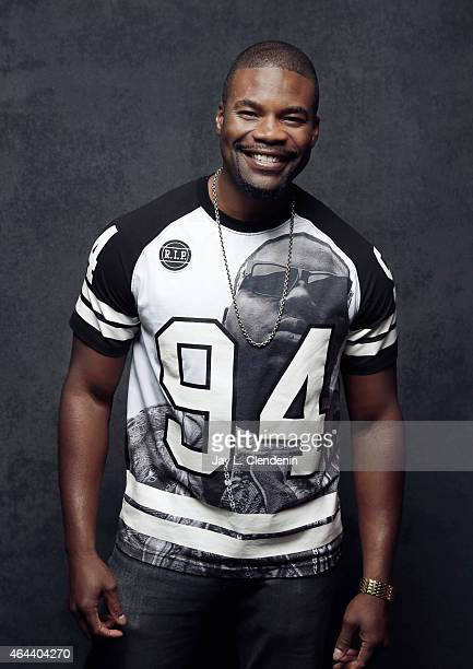 Actor Amin Joseph is photographed for Los Angeles Times at the 2015 Sundance Film Festival on January 24 2015 in Park City Utah PUBLISHED IMAGE...