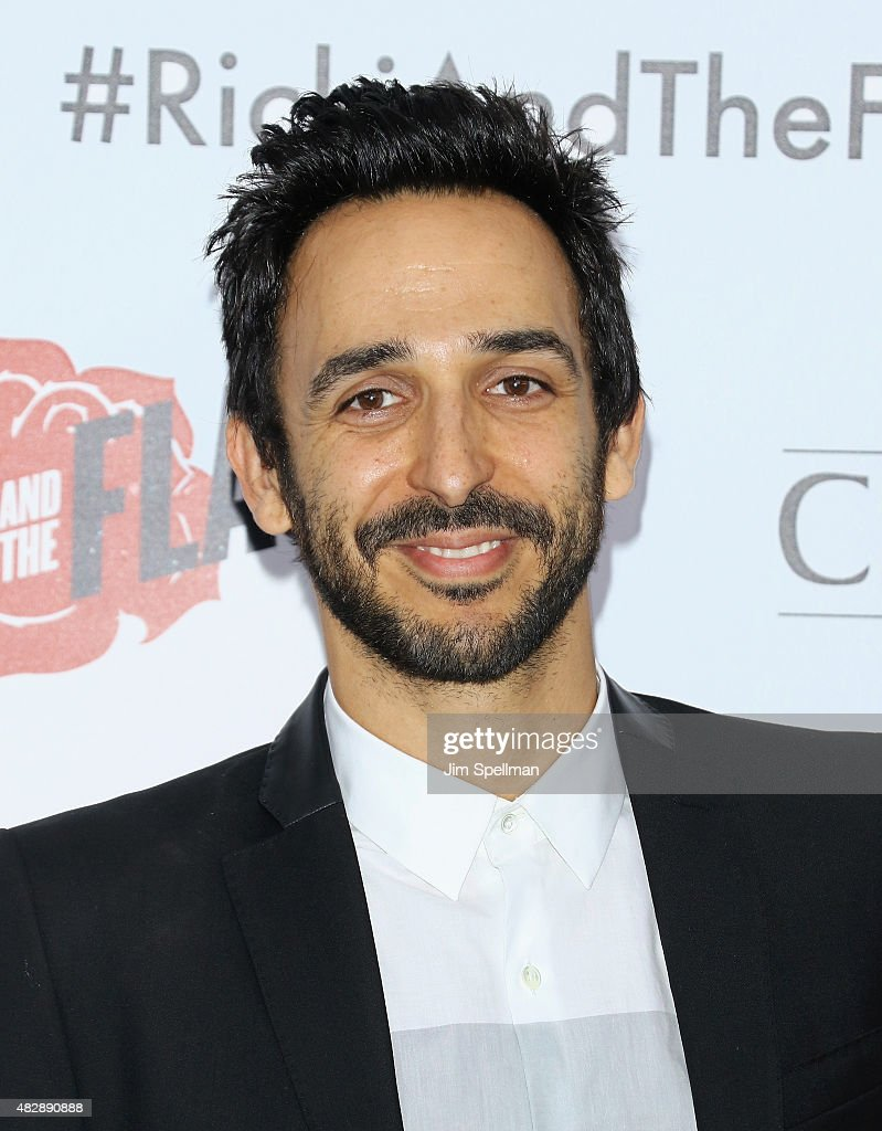 Actor Amir Arison attends the 'Ricki And The Flash' New York premiere at AMC Lincoln Square Theater on August 3, 2015 in New York City.