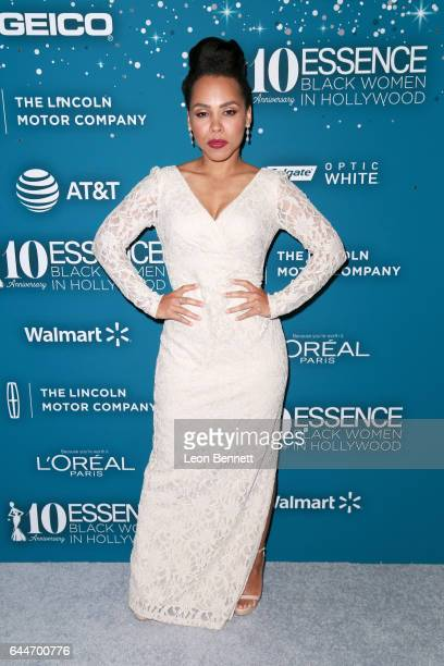 Actor Amirah Vann at Essence Black Women in Hollywood Awards at the Beverly Wilshire Four Seasons Hotel on February 23 2017 in Beverly Hills...