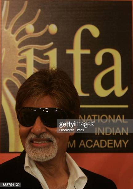 Actor Amitabh Bachchan inaugurates IIFA voting weekend by casting his vote in Mumbai on Friday