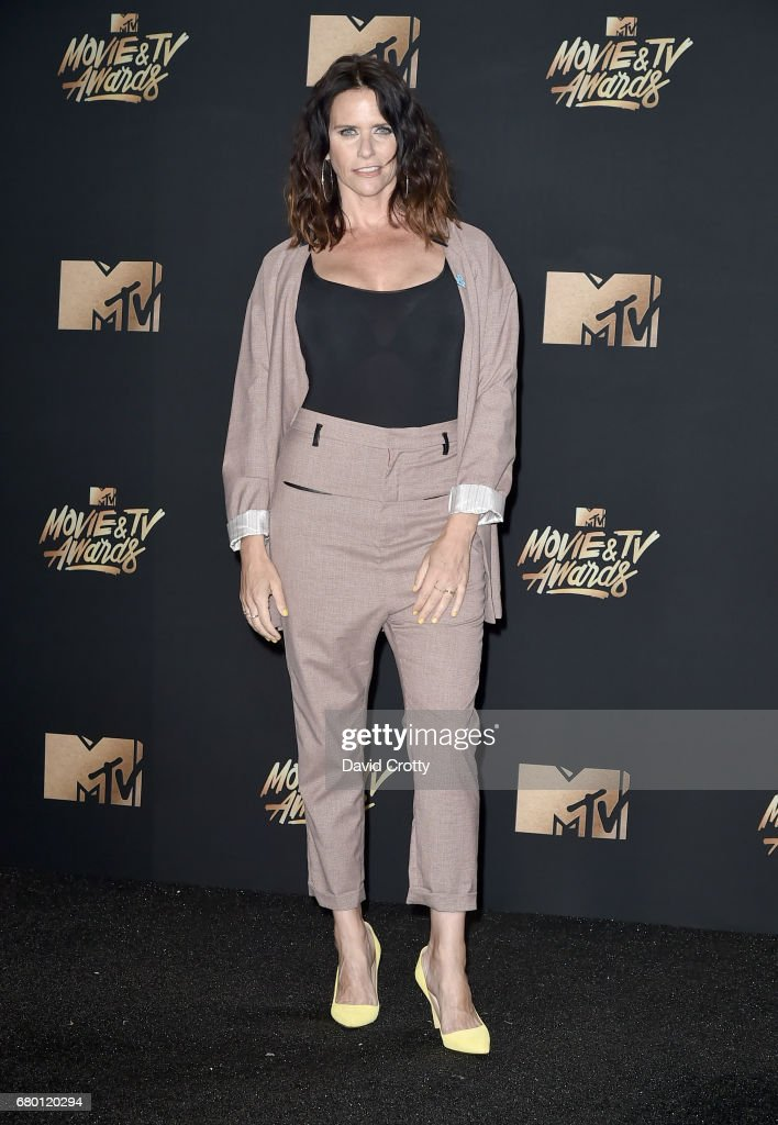 Actor Amy Landecker attends the 2017 MTV Movie And TV Awards at The Shrine Auditorium on May 7, 2017 in Los Angeles, California.