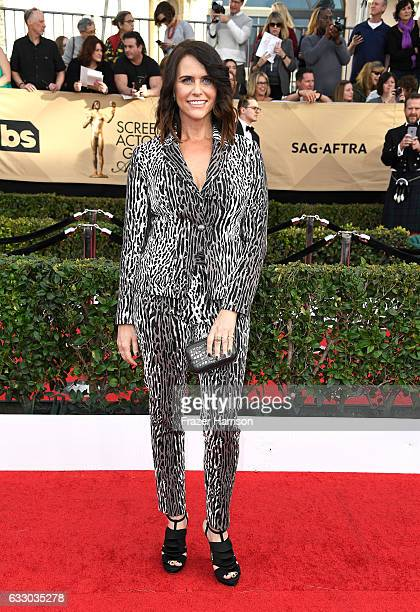 Actor Amy Landecker attends The 23rd Annual Screen Actors Guild Awards at The Shrine Auditorium on January 29 2017 in Los Angeles California 26592_008