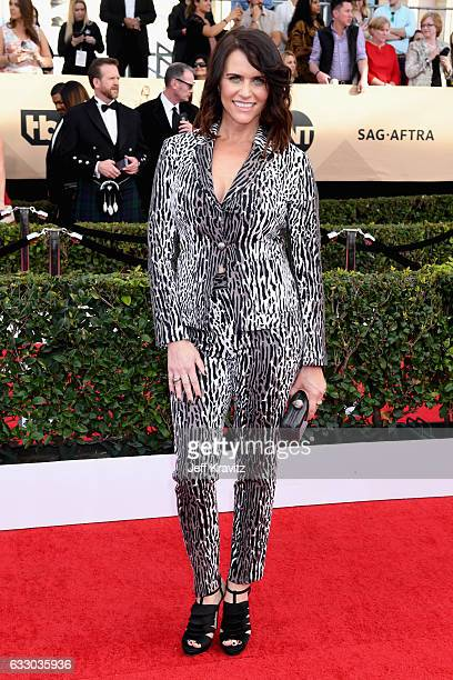 Actor Amy Landecker attends the 23rd Annual Screen Actors Guild Awards at The Shrine Expo Hall on January 29 2017 in Los Angeles California
