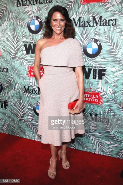 Actor Amy Landecker attends the tenth annual Women in Film PreOscar Cocktail Party presented by Max Mara and BMW at Nightingale Plaza on February 24...