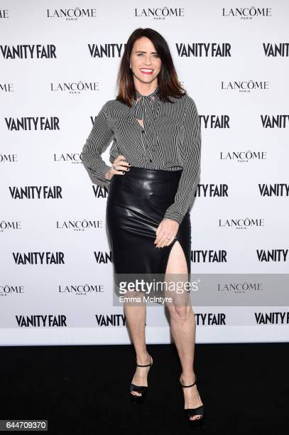 Actor Amy Landecker attends Vanity Fair and Lancome Toast to The Hollywood Issue at Chateau Marmont on February 23 2017 in Los Angeles California