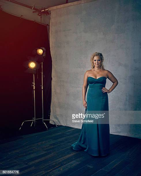 Actor Amy Schumer is photographed for Emmy magazine on September 20 2015 in Los Angeles California