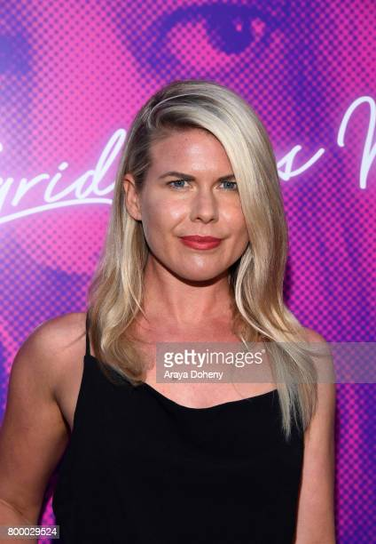 Actor Amy Waller attends the Closing Night Screening of 'Ingrid Goes West' during the 2017 Los Angeles Film Festival at ArcLight Cinemas Culver City...