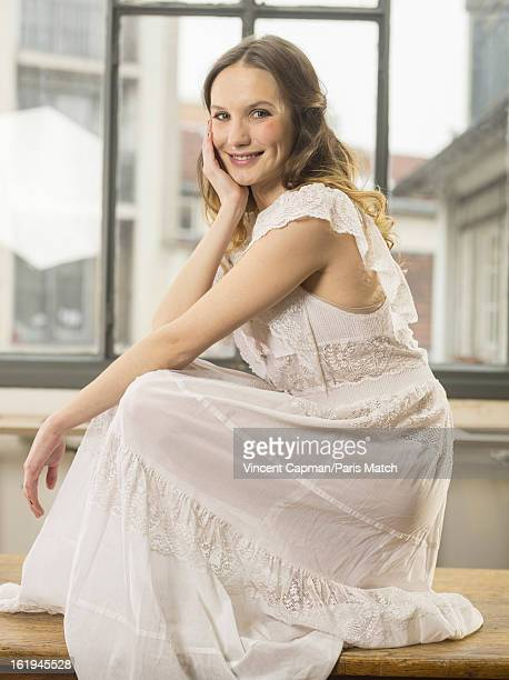 Actor Ana Girardot is photographed for Paris Match on January 24 2013 in Paris France