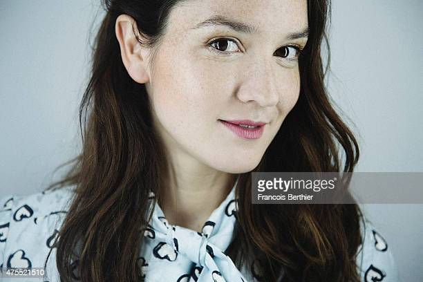 Actor Anais Demoustier is photographed on May 20 2015 in Cannes France