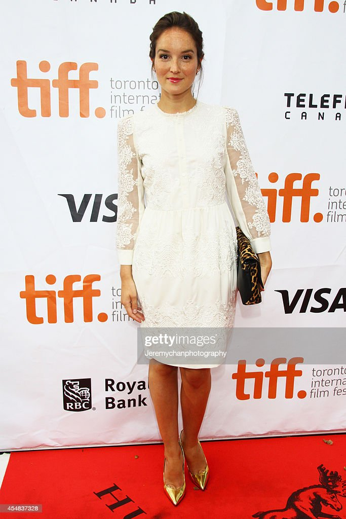 Actor Anaïs Demoustier arrives at 'The New Girlfriend' Premiere during the 2014 Toronto International Film Festival held at Roy Thomson Hall on September 6, 2014 in Toronto, Canada.