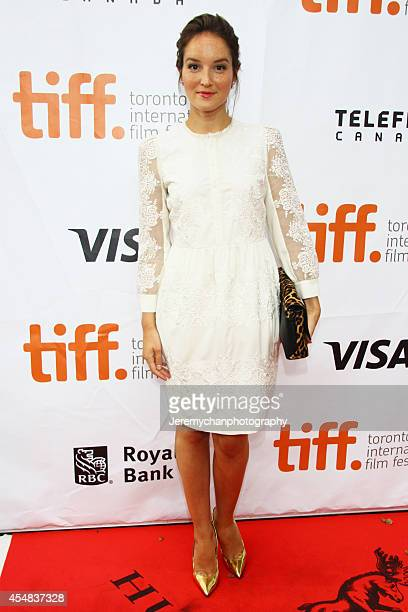 Actor Anaïs Demoustier arrives at 'The New Girlfriend' Premiere during the 2014 Toronto International Film Festival held at Roy Thomson Hall on...
