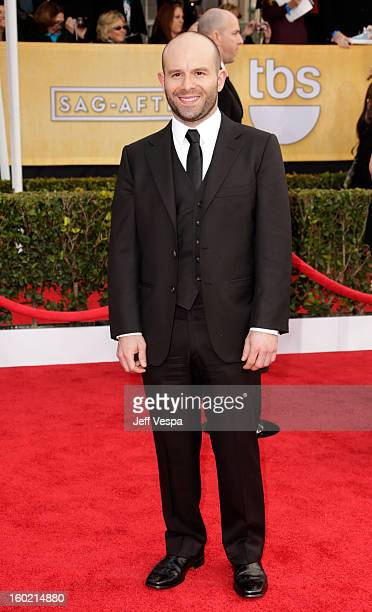 Actor Anatol Yusef arrives at the19th Annual Screen Actors Guild Awards held at The Shrine Auditorium on January 27 2013 in Los Angeles California