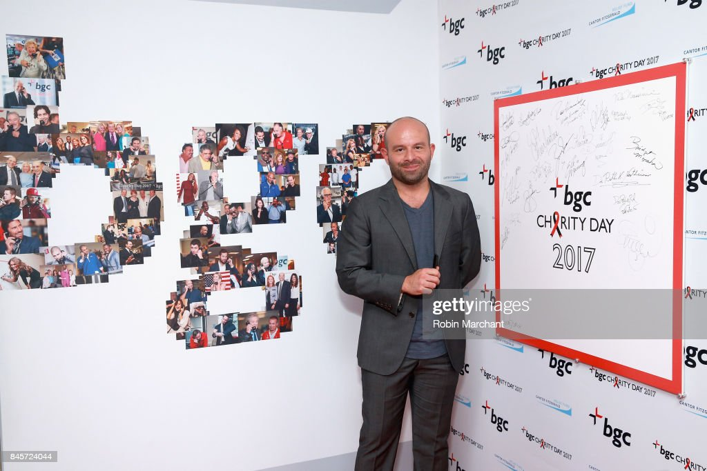Annual Charity Day Hosted By Cantor Fitzgerald, BGC and GFI - BGC Office - Arrivals