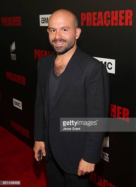 Actor Anatol Yusef attends the Los Angeles Premiere of AMC's 'Preacher' on May 14 2016 in Los Angeles California