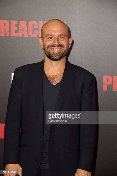 Actor Anatol Yusef attends the Los Angeles Premiere of AMC's 'Preacher' at Regal LA Live Stadium 14 on May 14 2016 in Los Angeles California