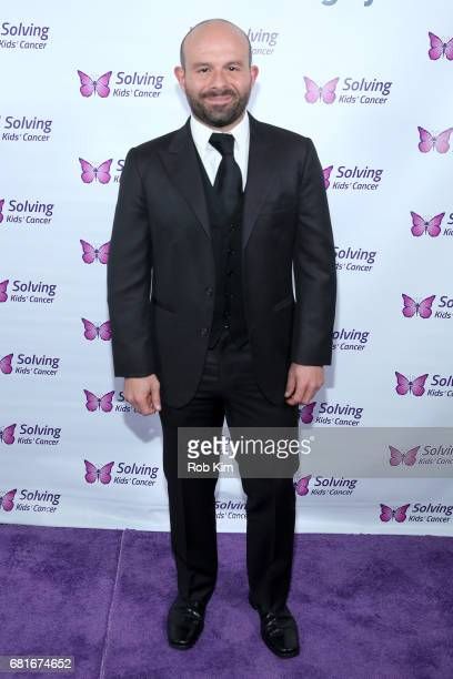 Actor Anatol Yusef attends the Solving Kids' Cancer Spring Celebration 10 Years Of Hope And Healing at Mandarin Oriental New York on May 10 2017 in...