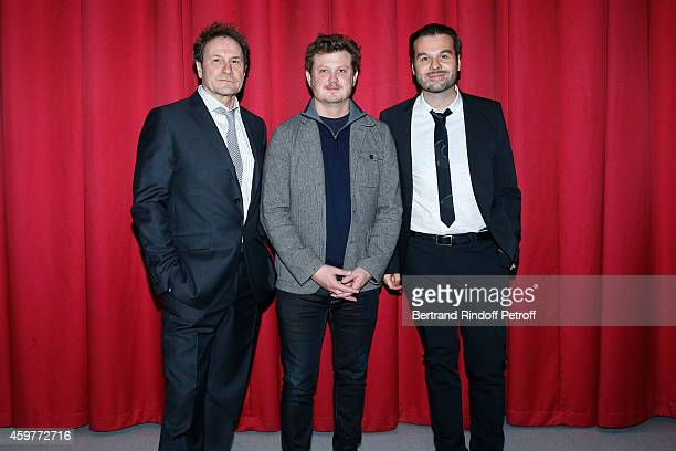 Actor and adaptator Francis Lombrail Author of the Piece which is adapted this one Beau Willimon and Stage Director and Adaptator Ladislas Chollat...