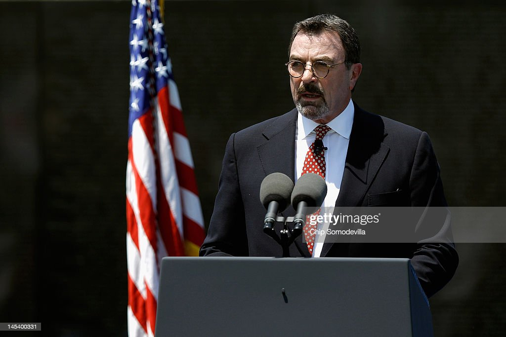"""""""Magnum, P.I."""" actor Tom Selleck was drafted during the Vietnam War, and served with the California National Guard from 1967-1973."""