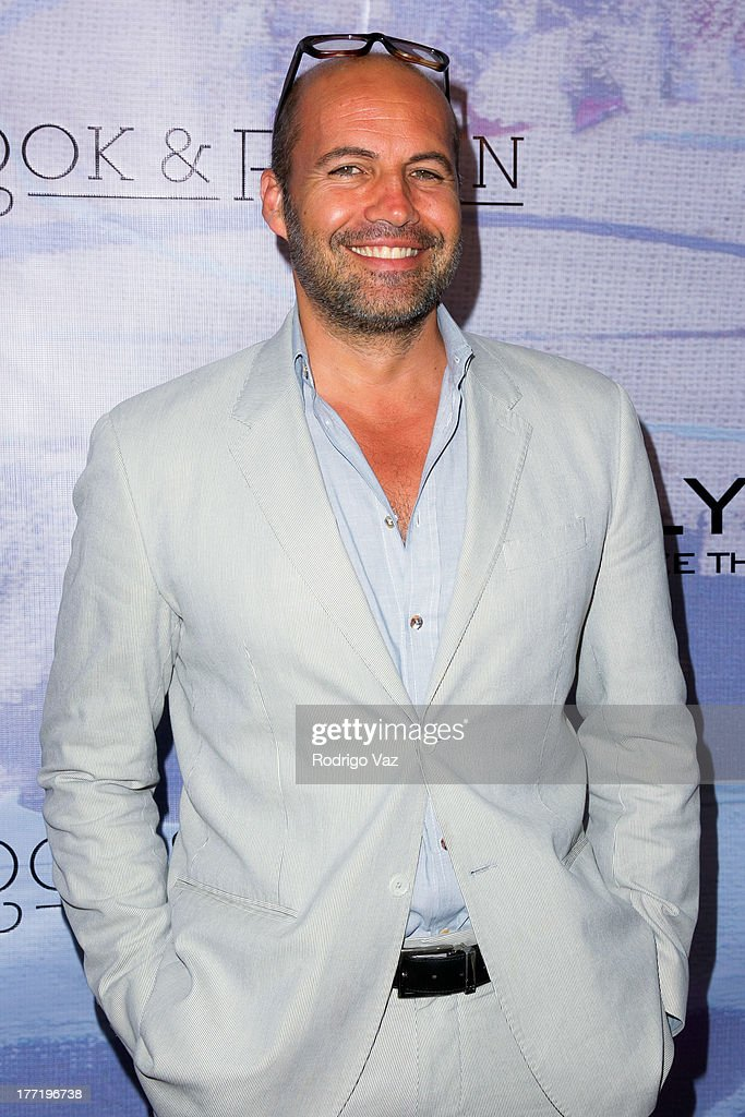 Actor and artist <a gi-track='captionPersonalityLinkClicked' href=/galleries/search?phrase=Billy+Zane&family=editorial&specificpeople=211418 ng-click='$event.stopPropagation()'>Billy Zane</a> attends the artist's reception for <a gi-track='captionPersonalityLinkClicked' href=/galleries/search?phrase=Billy+Zane&family=editorial&specificpeople=211418 ng-click='$event.stopPropagation()'>Billy Zane</a>'s solo art exhibition 'Seize The Day Bed' on August 21, 2013 in Los Angeles, California.