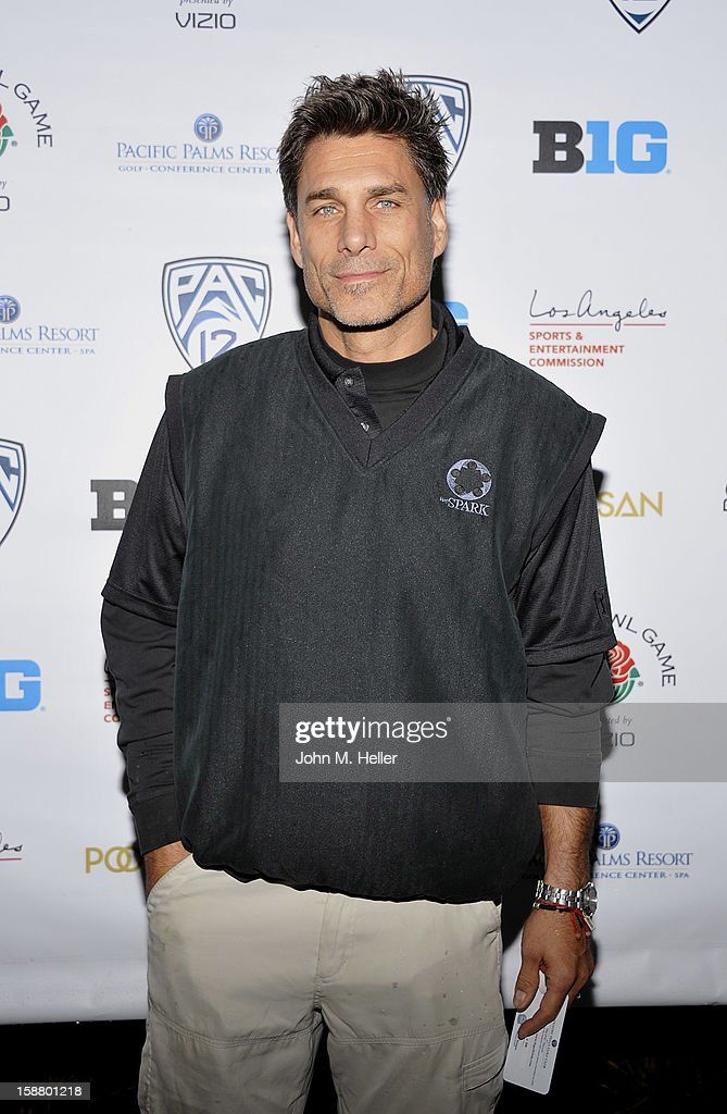 Actor and artist <a gi-track='captionPersonalityLinkClicked' href=/galleries/search?phrase=James+Hyde&family=editorial&specificpeople=658981 ng-click='$event.stopPropagation()'>James Hyde</a> attends the first annual Rose Bowl Golf Classic at the Pacific Palms Resort & Hotel on December 29, 2012 in City of Industry, California.