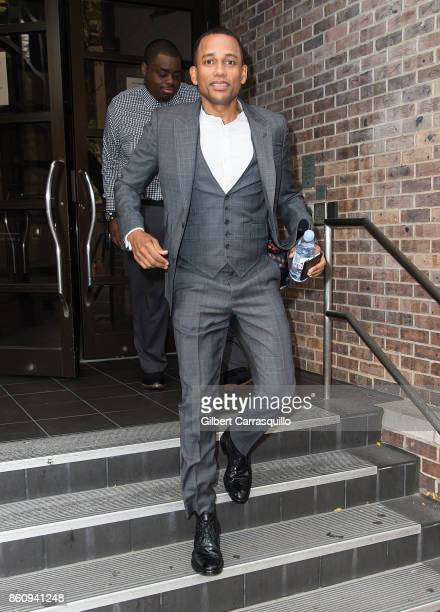 Actor and author Hill Harper visits Fox 29's 'Good Day' at FOX 29 Studio on October 13 2017 in Philadelphia Pennsylvania