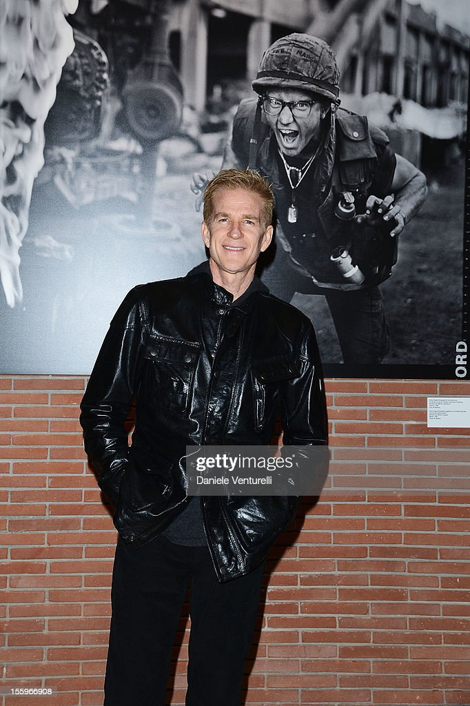Actor and Best Debut and Second Film Jury President <a gi-track='captionPersonalityLinkClicked' href=/galleries/search?phrase=Matthew+Modine&family=editorial&specificpeople=211363 ng-click='$event.stopPropagation()'>Matthew Modine</a> attends the 'Full Metal Jacket Diary Redux' Exhibition Opening during The 7th Rome Film Festival at Foyer Sinopoli on November 10, 2012 in Rome, Italy.