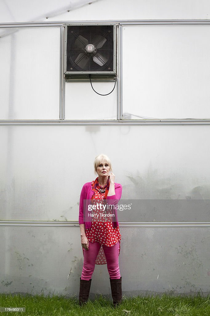 Actor and campaigner <a gi-track='captionPersonalityLinkClicked' href=/galleries/search?phrase=Joanna+Lumley&family=editorial&specificpeople=206307 ng-click='$event.stopPropagation()'>Joanna Lumley</a> is photographed for the Observer on May 21, 2013 in London, England.