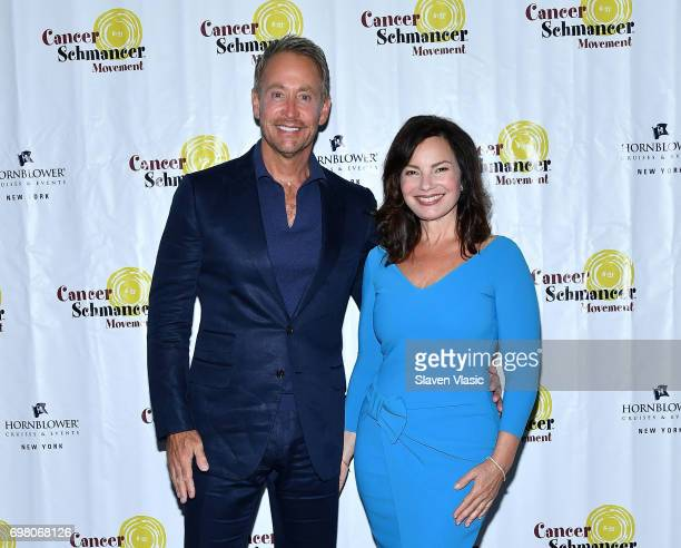 Actor and cocreator of the popular sitcom 'The Nanny' Peter Marc Jacobson and actress/activist Fran Drescher attend Fran Drescher 2017 Cancer...